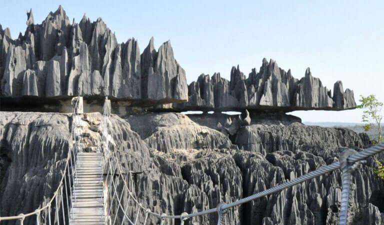 جزیره ماداگاسکار - پارک ملی Tsingy de Bemaraha