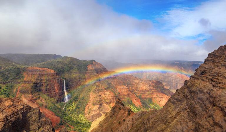 جزایر هاوایی - دره Waimea