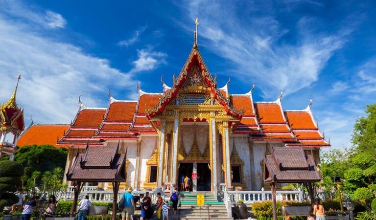 جاهای دیدنی پوکت - Wat Chalong – قدیمیترین معبد بودا