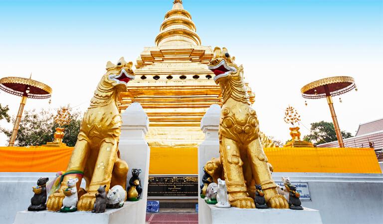 جاهای دیدنی پوکت - مجسمه نیمه مدفونِ بودا